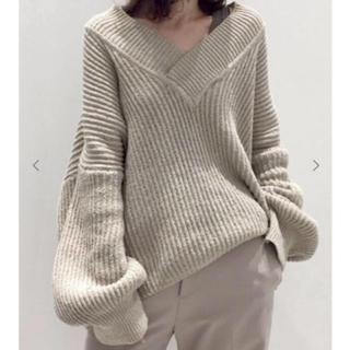 アパルトモンドゥーズィエムクラス(L'Appartement DEUXIEME CLASSE)のTwins Florence Oversize Knit アパルトモン  ニット(ニット/セーター)