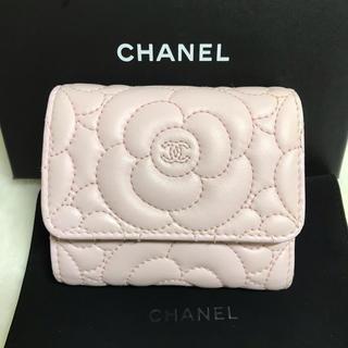 CHANEL - CHANELシャネル カメリア 財布