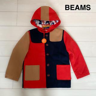 ビームス(BEAMS)のBEAMS◆裏ボア カラーブロック ジャケット コート 裏起毛 男の子 女の子(コート)