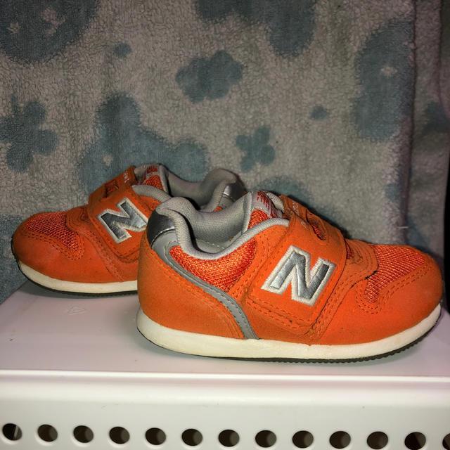 New Balance(ニューバランス)のnew balance 14cm  除菌洗濯済 ニューバランス キッズ/ベビー/マタニティのベビー靴/シューズ(~14cm)(スニーカー)の商品写真