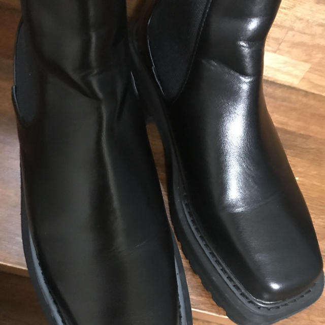 SLY(スライ)のSLY  SQUARE TOE BOOTS レディースの靴/シューズ(ブーツ)の商品写真