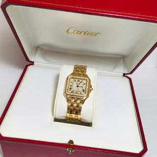 Cartier - 鑑定済確実正規品 カルティエ パンテールLM ダイヤベゼル 金無垢