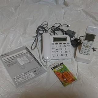 パイオニア(Pioneer)のコードレス子機付電話機(新品充電池付)(その他)
