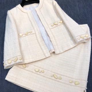 ジュンアシダ(jun ashida)のミスアシダ♡ツイード スカート スーツ(スーツ)