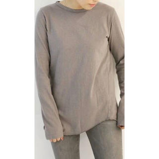 DEUXIEME CLASSE - ドゥーズィエムクラス  Layering Tシャツ ブラウン