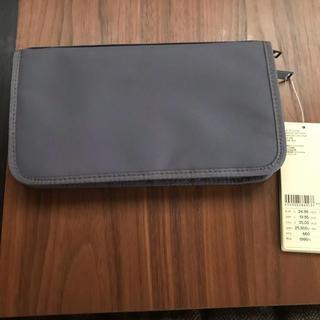 MUJI (無印良品) - 無印良品 パスポートケース、クリアポケット3枚付