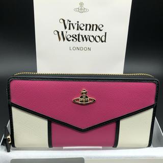 Vivienne Westwood - 【新品・正規品】ヴィヴィアン ウエストウッド 長財布 317 ピーチ プレゼント
