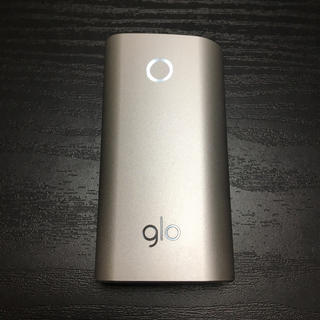 グロー(glo)の72番 glo 純正 本体 1本 銀 シルバー(タバコグッズ)