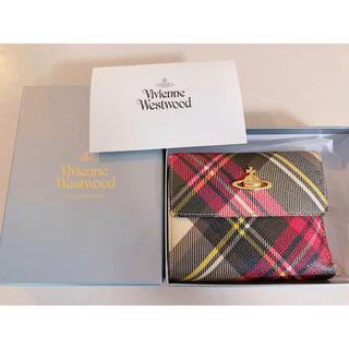 Vivienne Westwood - ヴィヴィアンウエストウッド☆チェック柄二つ折り財布