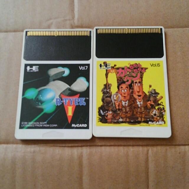 NEC(エヌイーシー)のPCエンジンソフト R-TYPEⅠとカトちゃんケンちゃんのセット  エンタメ/ホビーのゲームソフト/ゲーム機本体(家庭用ゲームソフト)の商品写真