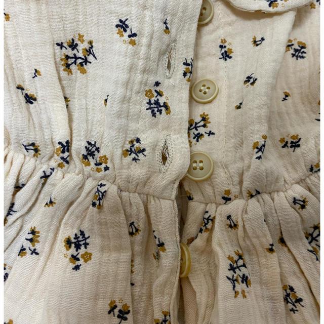 海外ベビー服 花柄ワンピース キッズ/ベビー/マタニティのキッズ服女の子用(90cm~)(ワンピース)の商品写真