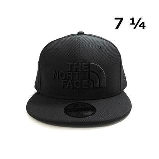THE NORTH FACE - ノースフェイス×ニューエラ ロゴ刺繍キャップ 速乾(S)黒 180726