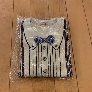 プティマイン(petit main)の新品未開封 petit main 長袖トレーナー 100cm ベビー 子供 53(Tシャツ/カットソー)