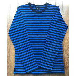 アニエスベー(agnes b.)のagnes b アニエスベー ボーダーロングTシャツ ブルー/ブラック(Tシャツ(長袖/七分))