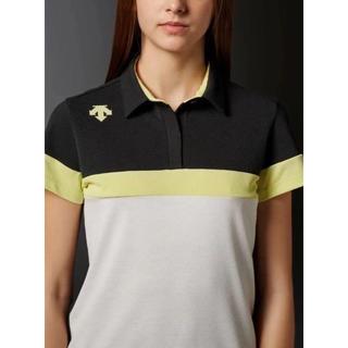 DESCENTE - L 定価14040円 新品 デサント レディース ポロシャツ 半袖 トップス