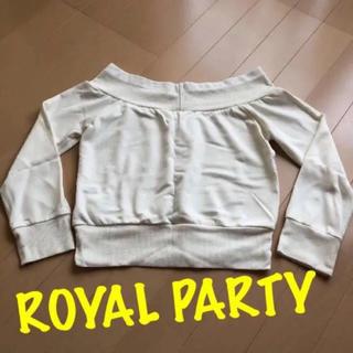 ロイヤルパーティー(ROYAL PARTY)のROYAL PARTY トップス(Tシャツ(半袖/袖なし))