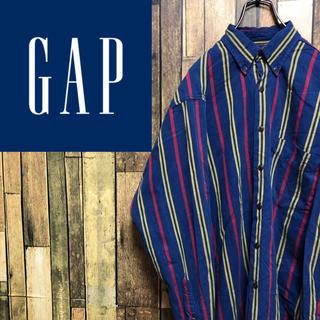 GAP - 【激レア】オールドギャップGAP☆クラシックレトロストライプシャツ 90s