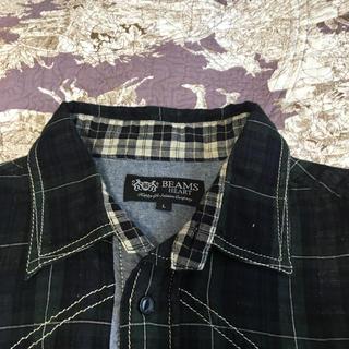 BEAMS - ビームスハート チェックシャツ