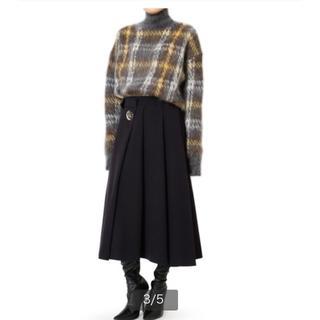 LE CIEL BLEU - ルシェルブルー  メタルボタンスカート