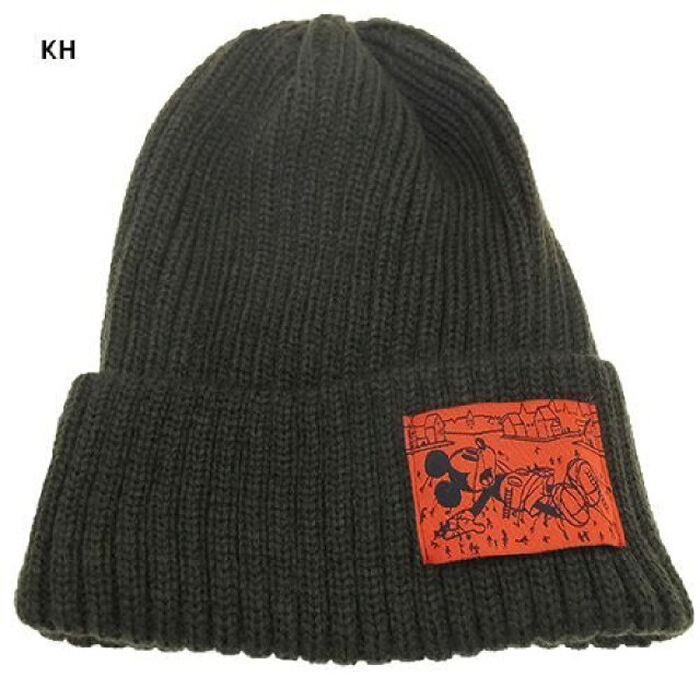 ミッキーマウス(ミッキーマウス)のミッキーマウス ニットキャップ レディースの帽子(ニット帽/ビーニー)の商品写真
