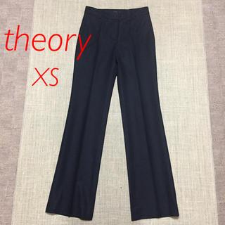 theory - セオリー ストレッチ 美脚パンツ ブラック XS