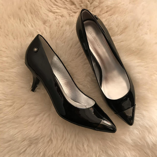 DIESEL(ディーゼル)の新品☆正規品☆DIESEL☆パンプス☆38☆24.5☆ レディースの靴/シューズ(ハイヒール/パンプス)の商品写真