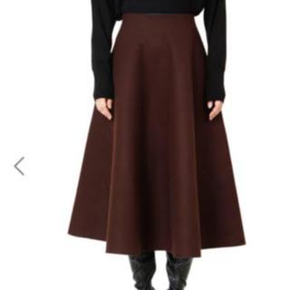 LE CIEL BLEU - ルシェルブルー メルトンテントスカート