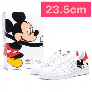 adidas - adidas ミッキーマウス✖️スーパースター 23.5cm