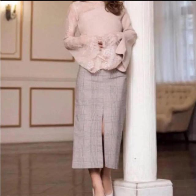 eimy istoire(エイミーイストワール)のチェックロングスカート レディースのスカート(ロングスカート)の商品写真