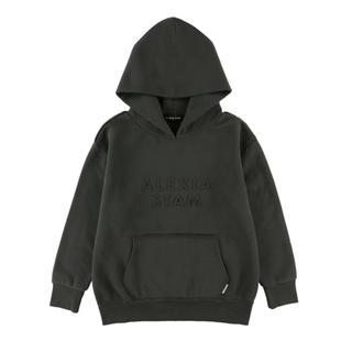 アリシアスタン(ALEXIA STAM)のEmboss Logo Hoodie Sweatshirt (トレーナー/スウェット)