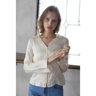 エディットフォールル(EDIT.FOR LULU)のmangata  Silky satin shirts(シャツ/ブラウス(長袖/七分))