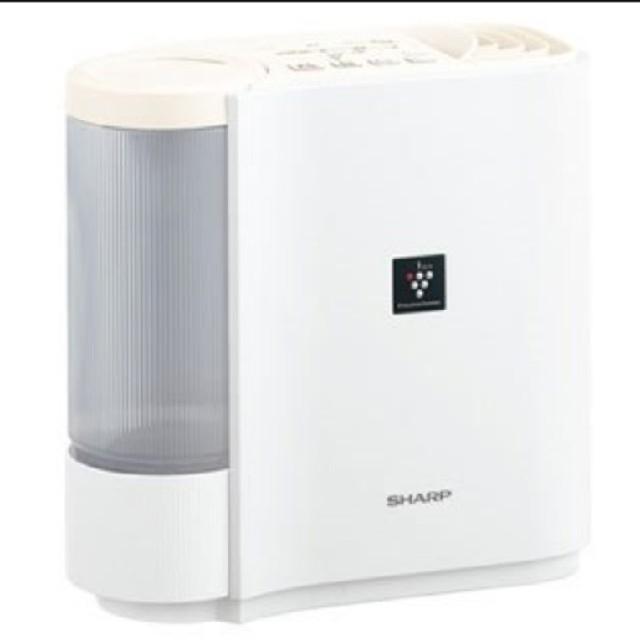 SHARP(シャープ)の 新品 SHARP プラズマクラスター7000 加湿器 HV-H30-W スマホ/家電/カメラの生活家電(加湿器/除湿機)の商品写真