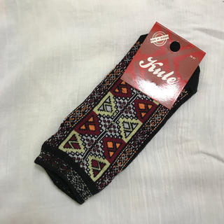 ザラ(ZARA)の送料込 新品 靴下 可愛い エスニック zara ビームス ビラボン  (ソックス)