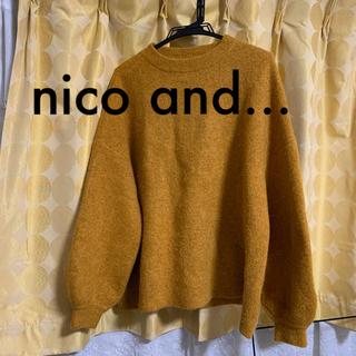 niko and... - nico and... 黄色 セーター