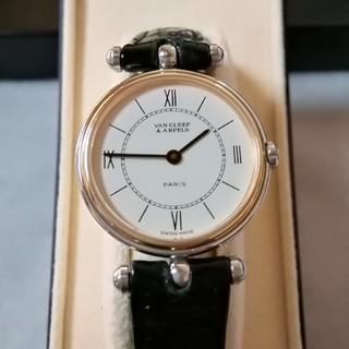 Van Cleef & Arpels - 非常に美品。ヴァンクリーフ&アーペル ラコレクション コンビベゼル 腕時計