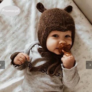Caramel baby&child  - 新品希少 bambolina エルフボンネット 18-24m