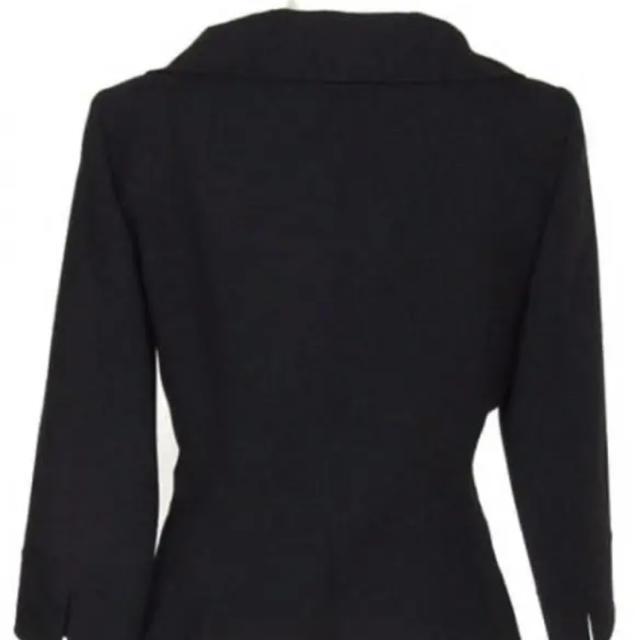 FOXEY(フォクシー)の定価12万!フォクシーブティック黒ジャケット美品 レディースのジャケット/アウター(テーラードジャケット)の商品写真