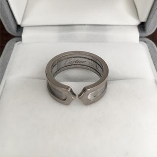 Cartier - カルティエ C2 リング K18WG 6.5mm 7.1g