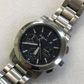 アニエスベー(agnes b.)のアニエス・べー 腕時計 メンズ クロノグラフ  (腕時計(アナログ))