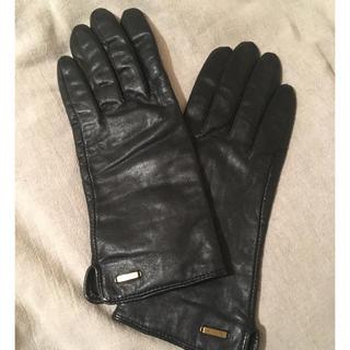 H&M - H&M 革手袋 レザー手袋 ブラック