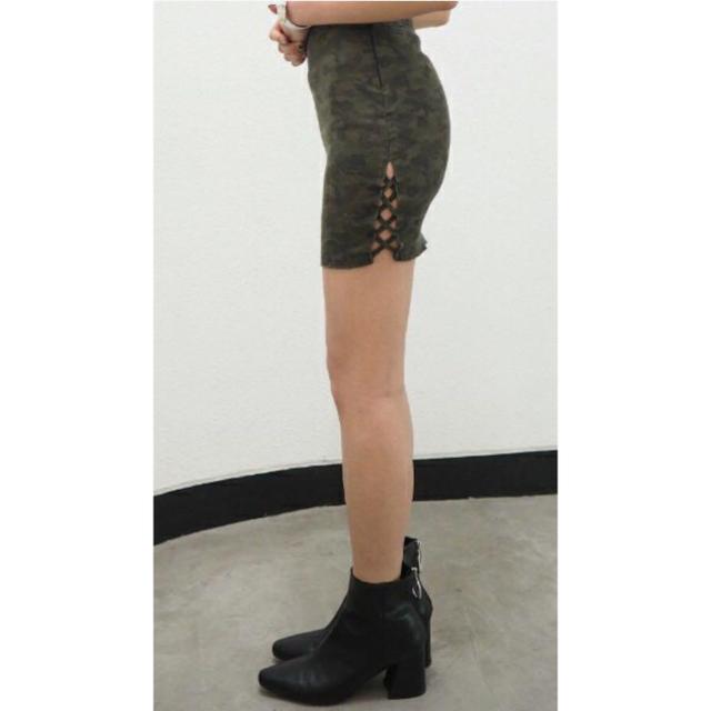 GYDA(ジェイダ)のGYDA   迷彩スカート レディースのスカート(ミニスカート)の商品写真