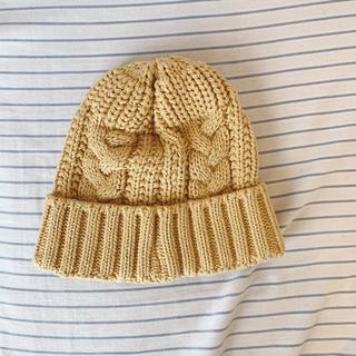 CA4LA - CA4LA ニット 帽子 ブラウン
