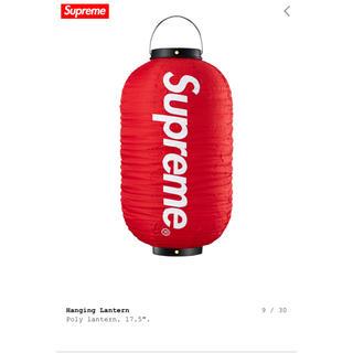 シュプリーム(Supreme)のsupreme hanging lantern red (ライト/ランタン)