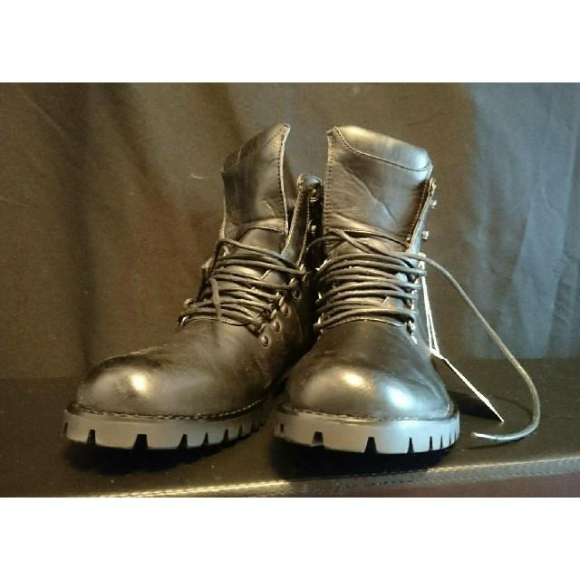 RICHARD SMITH  ワークブーツ メンズ  黒  27cm メンズの靴/シューズ(ブーツ)の商品写真