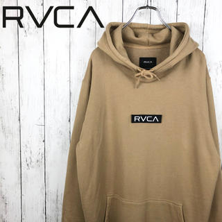 RVCA - 【美品】【希少】【ルーカ】【ムラサキスポーツコラボ】【ボックスロゴ】パーカー☆L