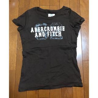 アバクロンビーアンドフィッチ(Abercrombie&Fitch)のAbercrombie&Fitchアバクロ☆ブラウンTシャツ(Tシャツ(半袖/袖なし))