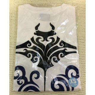 ちら海水族館 Tシャツ トライバルマンタ 白 XS 155〜160cm(Tシャツ/カットソー(半袖/袖なし))