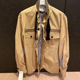 sacai -  sacai 20ss ミルタリーシャツジャケット サイズ1