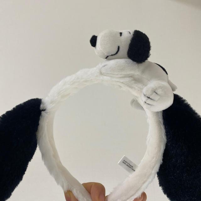 USJ(ユニバーサルスタジオジャパン)のユニバ カチューシャ スヌーピー レディースのヘアアクセサリー(カチューシャ)の商品写真