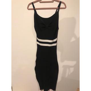 アナップラティーナ(ANAP Latina)のANAP 胸元リボンタイトワンピース(ミニドレス)